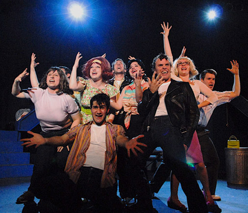 Summer Theatre of New Canaan Cast of Grease