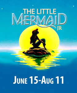 little mermaid poster summer theatre of new canaan